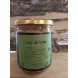 Curry de veau - 380gr