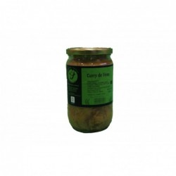 Curry de veau - 660gr