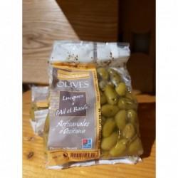 Olives Lucques à l'ail &...