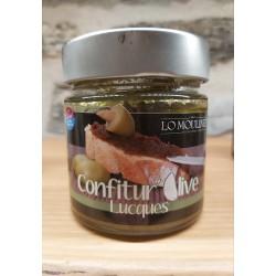 Confiture d'olive Lucques...